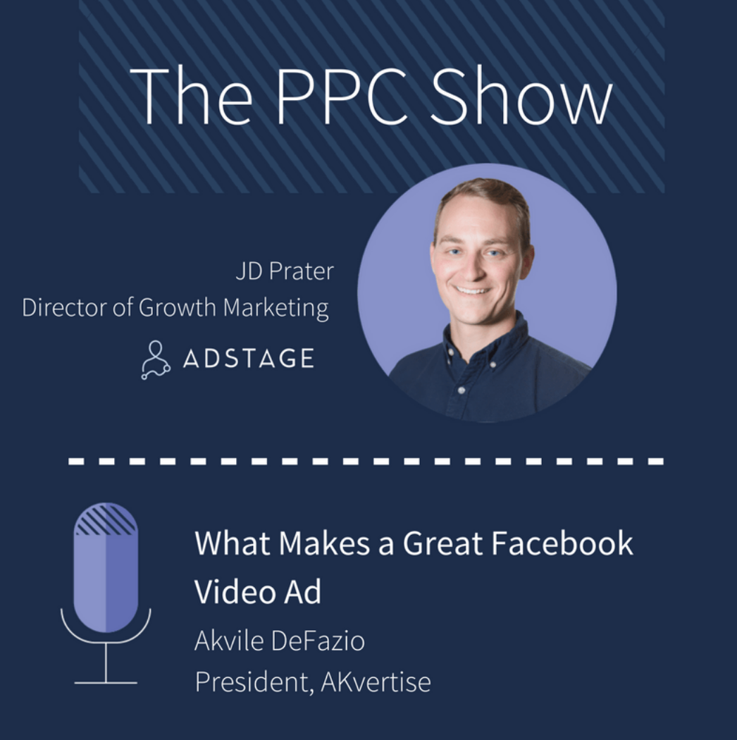 what makes a great facebook video ad adstage podcast with akvile defazio akvertise. Black Bedroom Furniture Sets. Home Design Ideas